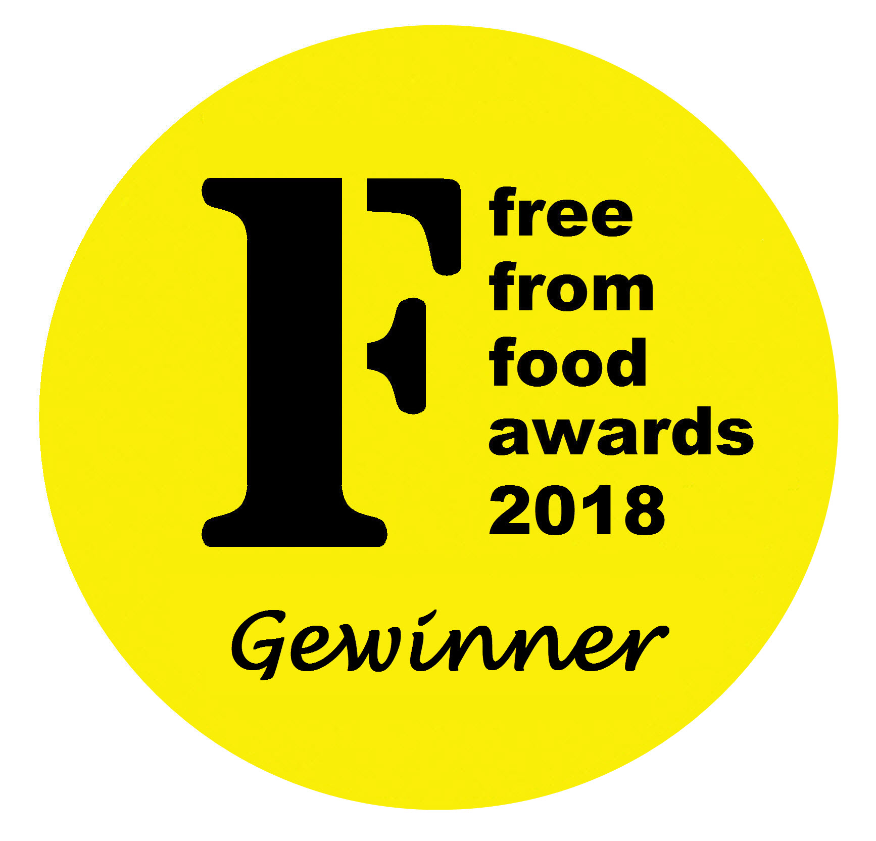 Gewinner Free From Food Awards 2018