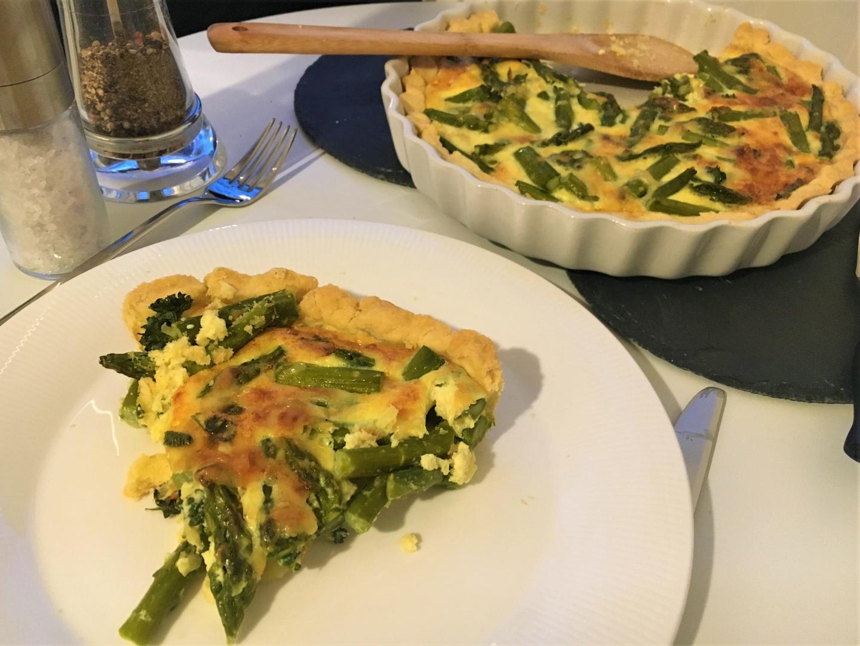 Panista_Blog_Rezepte_quiche mit grünem Spargel_glutenfrei