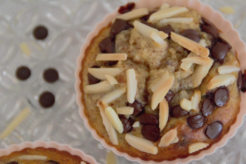 Panista_Blog_Rezept_Glutenfreie Bananen-Nuss-Schoko Muffins