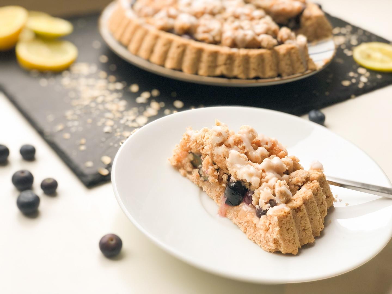 Panista_Blog_Rezept_Glutenfreier Blaubeer-Streusel Kuchen