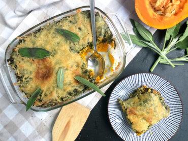 Panista_Blog_Rezept_Glutenfreie Kürbislasagne mit Spinat