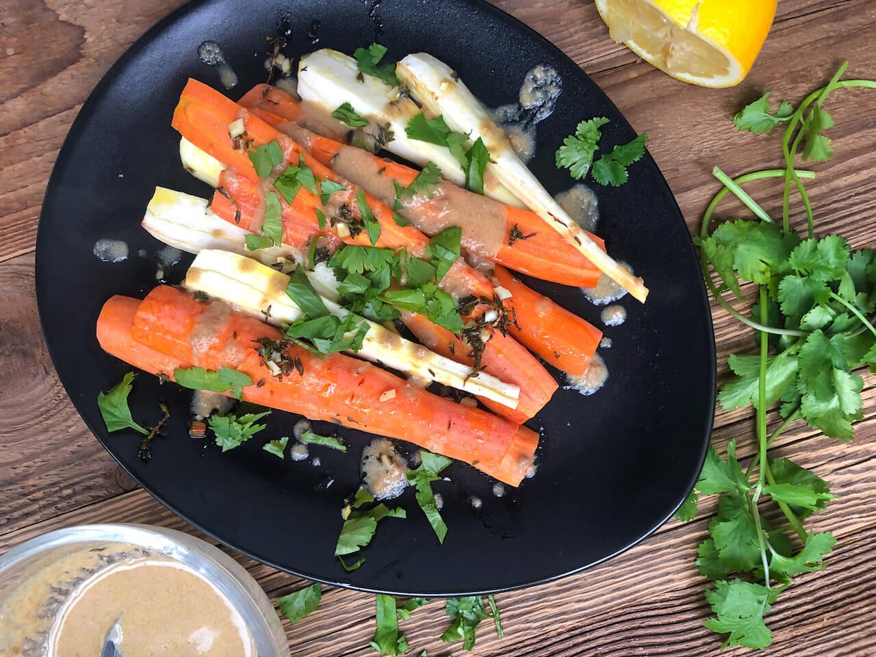 Panista_Blog_Rezept_Pastinaken-Möhren Gemüse_natürlich glutenfrei