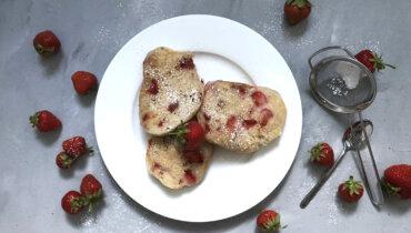 Panista_Blog_Tipp_Glutenfreie Erdbeeren Pancakes