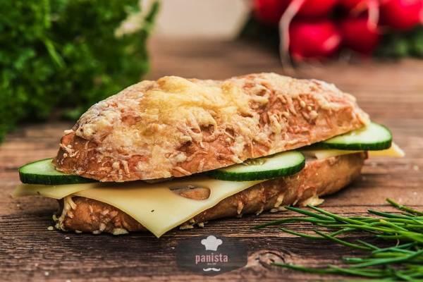 glutenfreie Käseseelen-Seitenansicht