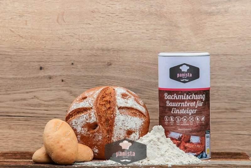 Glutenfreie Backmischung Bauernbrot für Einsteiger
