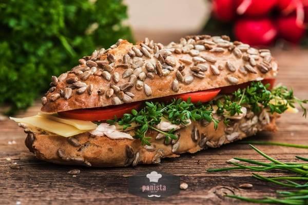 glutenfreie Körnerseelen-Seitenansicht