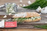 glutenfreies Knoblauch-Ciabatta_Seitenansicht
